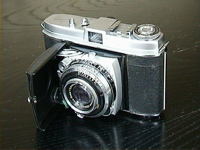 35Mm Camera With F-Stop And Shutter Controls